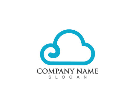 Clouds logo and symbols