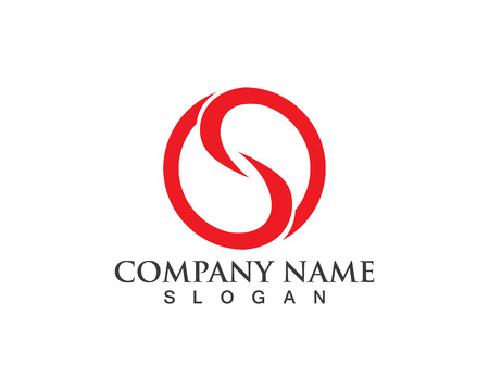 ビジネス企業 s ロゴ デザインのベクトル  イラスト・ベクター素材