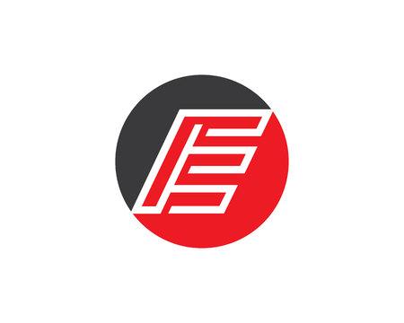 e business: E letter design symbol