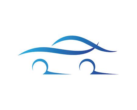 Car silhouette logo Vector.