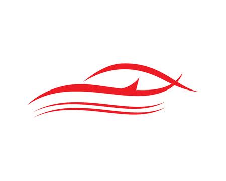 dragster: Vector - Car silhouette logo