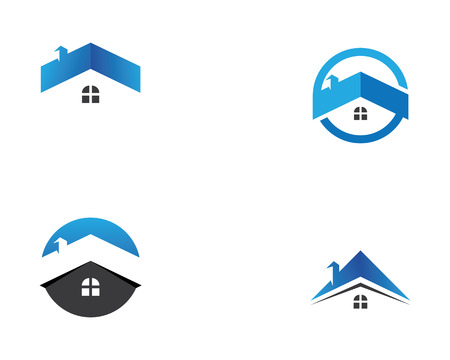 Home and buildings logo and symbols