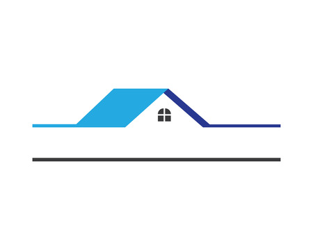 construction: Real estate and home buildings logo icons template