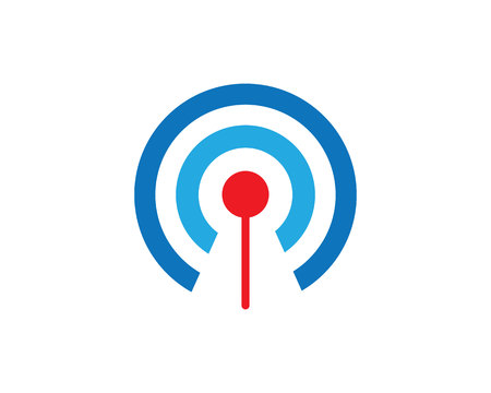 Vector - wifi logo vector