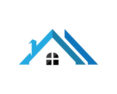 Real estate and home buildings design icon