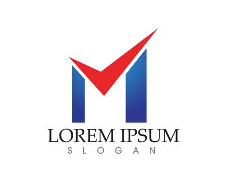 Letter M vector icons such logos Banco de Imagens - 88242758