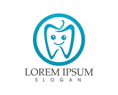 Dental care icon and symbols template design vector illustration.