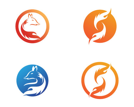 fox animals logo and symbols template app icons