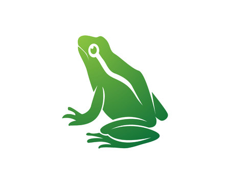 Frog icons vector Vectores