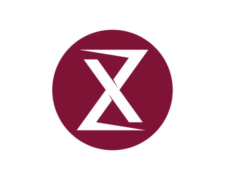 X Letter icon.