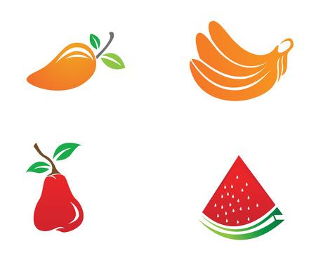 Fruit icons app Illustration