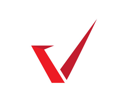 V letters business symbols icon design.