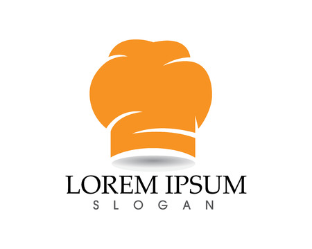 Chef hat Logo Template vector illustration app