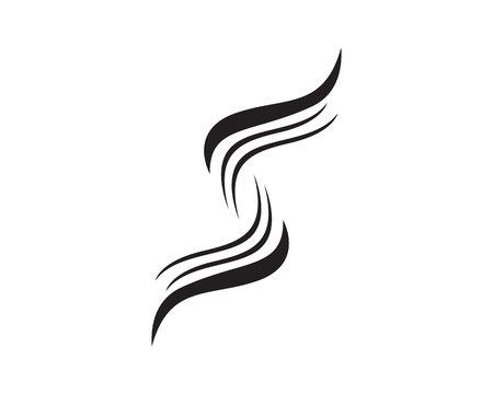SS logos and symbols template icons app  Ilustração
