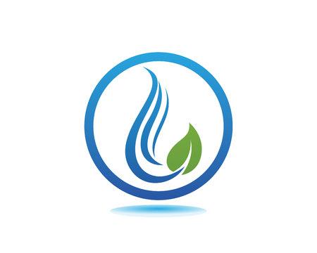 Water drop icon template vector illustration design.  イラスト・ベクター素材