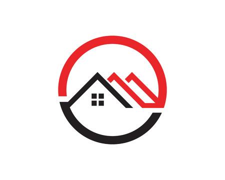 Home symbols template icons app Illustration