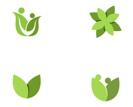 Family Flower icon and symbols Template icons