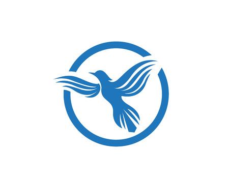 Bird logo template Illustration