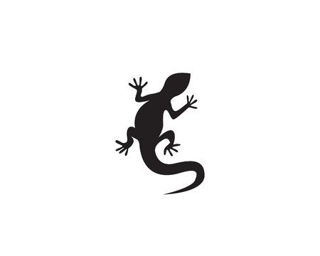 lagarto vector icono de logotipo y símbolos plantilla Logos