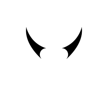 Bull horn logo and symbols template app