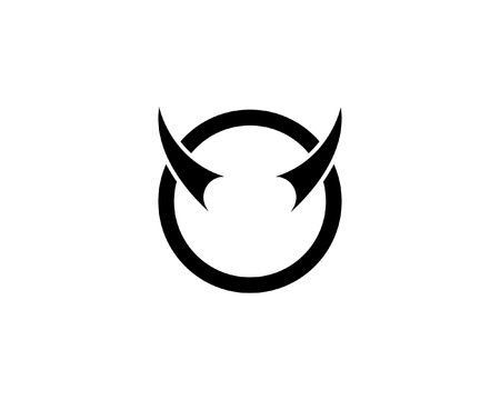Bull horn logo and symbols template app