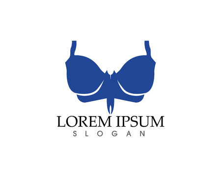 Push up bras isolated over white background