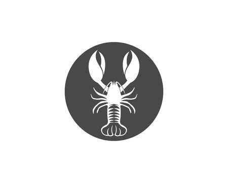 Lobster icon template Illustration