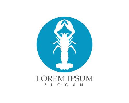 Icon crayfish. Lobster Vector illustration. Stock Vector - 98539243
