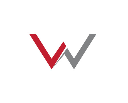 W Letter Logo Business Template Vector icon  Illustration