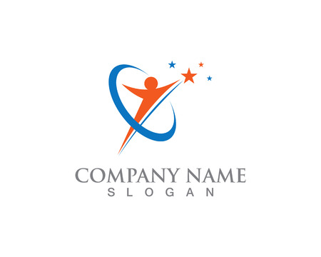 Star Logo Template vector icons illustration design