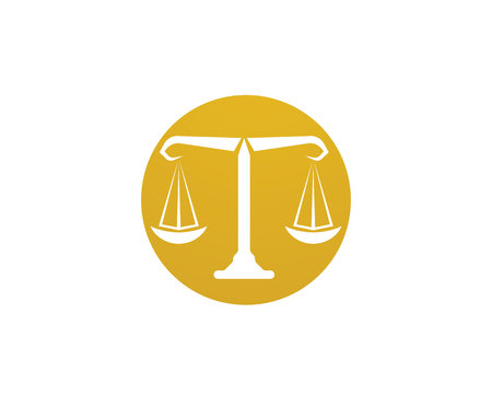Justice lawyer   symbols template