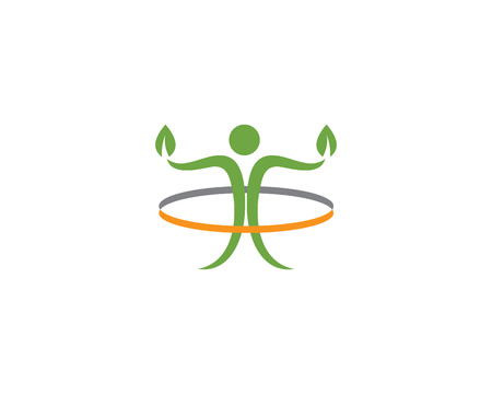 people care success health life logo template icons