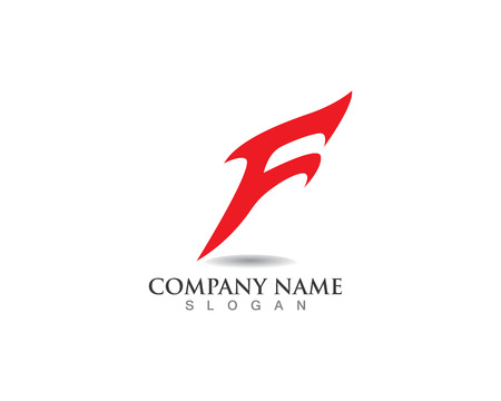 F logo and symbols template vector icons Logo