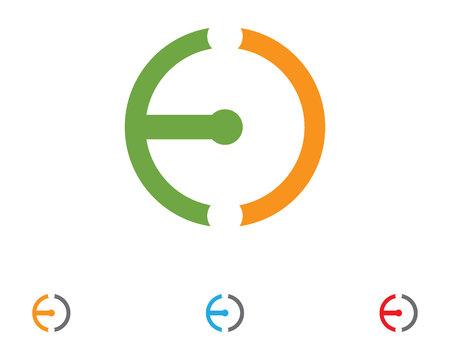 anchor symbol template vector icons app