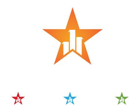 Star  vector icon illustration design