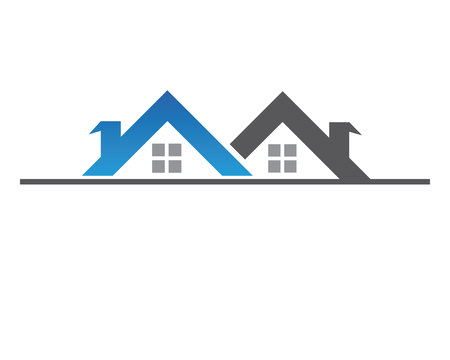 home buildings symbol template icons vector