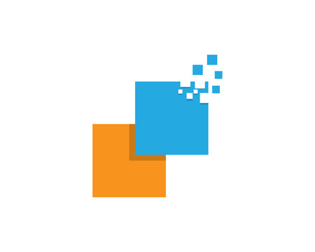 Business finance symbol template
