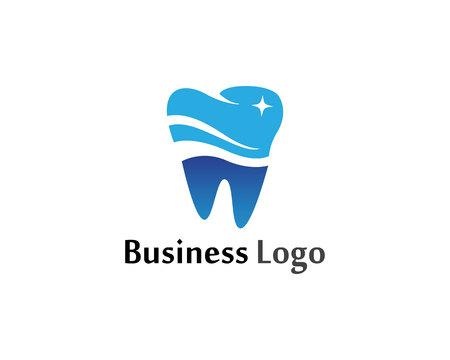 Dental Care Logo Symbole Vektorschablone