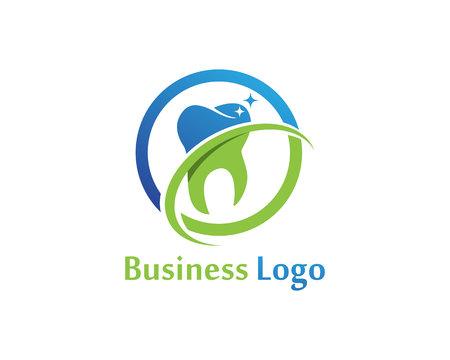 Dental Care Logo symbols vector template