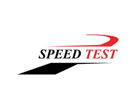 Diseño de ilustración de icono de vector de logotipo más rápido