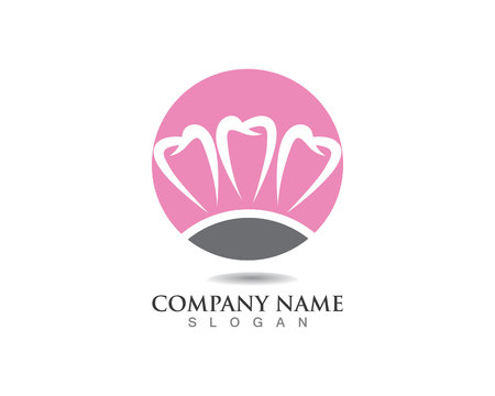 Dental care logo and symbols template icons app Logo