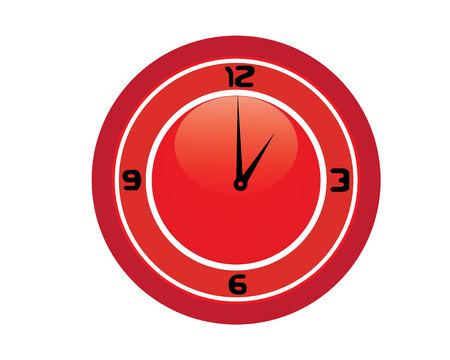 Clock time icons colour  logo and symbols