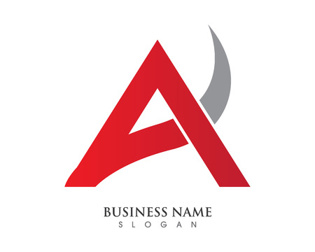 A Letter Logo Business Template Vector icon  Illustration