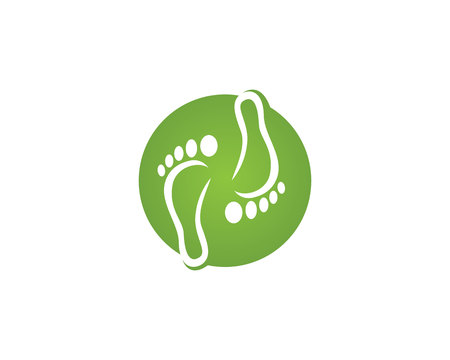 foot Logo Template