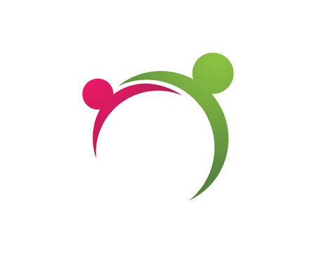 People success work leadership logo symbols