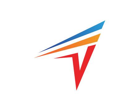Flash Business finance logo and symbols vector concept illustration