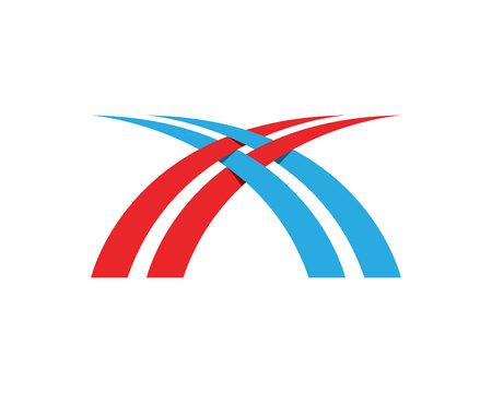 Bridge logo and symbols vector eps template