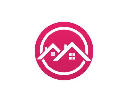 House home buildings logo template