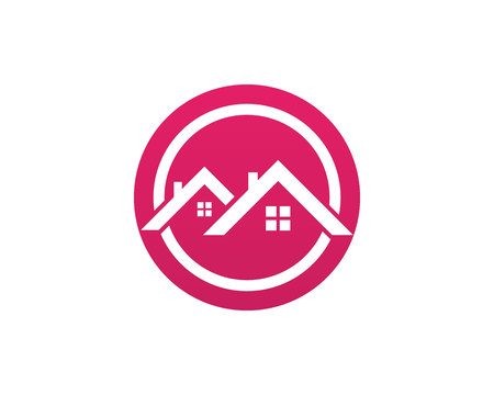 House home buildings logo template