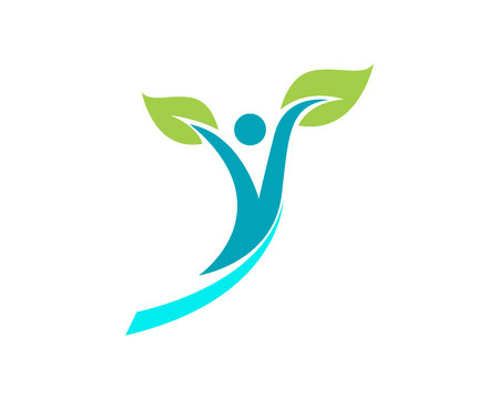 Health people logo symbols success health